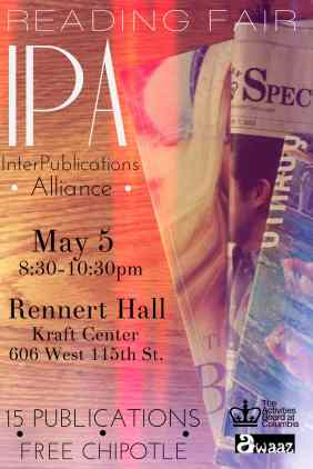 IPA Reading Fair Poster