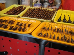 Skewered Insects