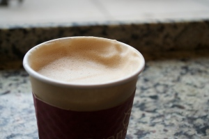 Oren's soy cappuccino, made with unsweetened organic soy milk. It may not be the cheapest cappuccino you ever buy, but it's definitely worth a taste! Oren's is located at 2882 Broadway between 112th and 113th streets.