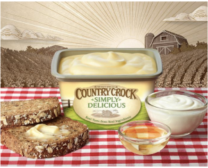 Homa's finished ad for Country Crock.