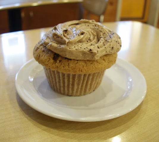 Molly's Cupcakes' Peanut Butter Nutella flavor
